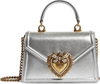 Dolce & Gabbana Mini Leather Devotion Bag