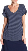 Allen Allen Short Sleeve Striped Tee