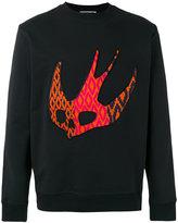 McQ by Alexander McQueen Darkest Black Sweater - men - Cotton - L