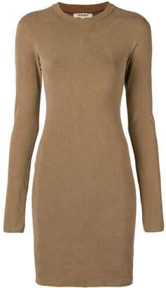 Yeezy crewneck long sleeved dress