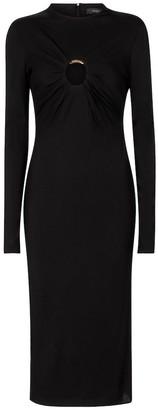 Versace Sable midi dress