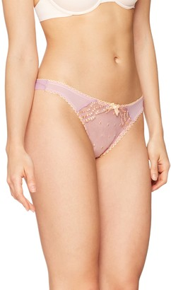 Iris & Lilly Amazon Brand Women's Embroidered Bikini Slip