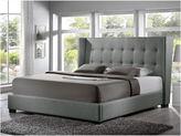 Asstd National Brand Baxton Studio Favela Modern Linen Upholstered Bed