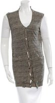 Marni Stripe Button-Up Vest