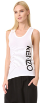 Kenzo Pleated Tank Top