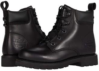 Harley-Davidson Beason 5 Lace (Black) Women's Boots