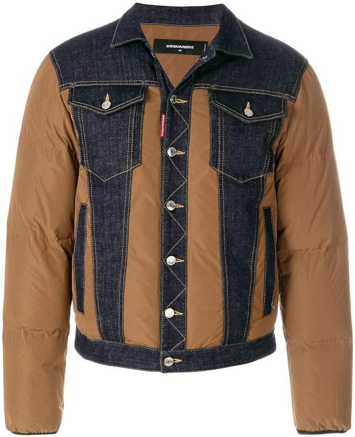 DSQUARED2 padded denim jacket