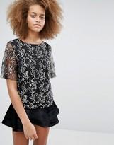 Selected Brina Lace Top
