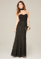 Bebe Bustier Gown