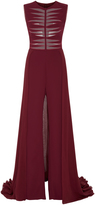 Georges Hobeika Sleeveless Jumpsuit With Cape