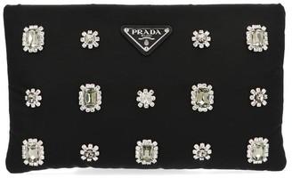 Prada Embellished Clutch Bag