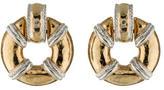 Givenchy Doorknocker Earrings