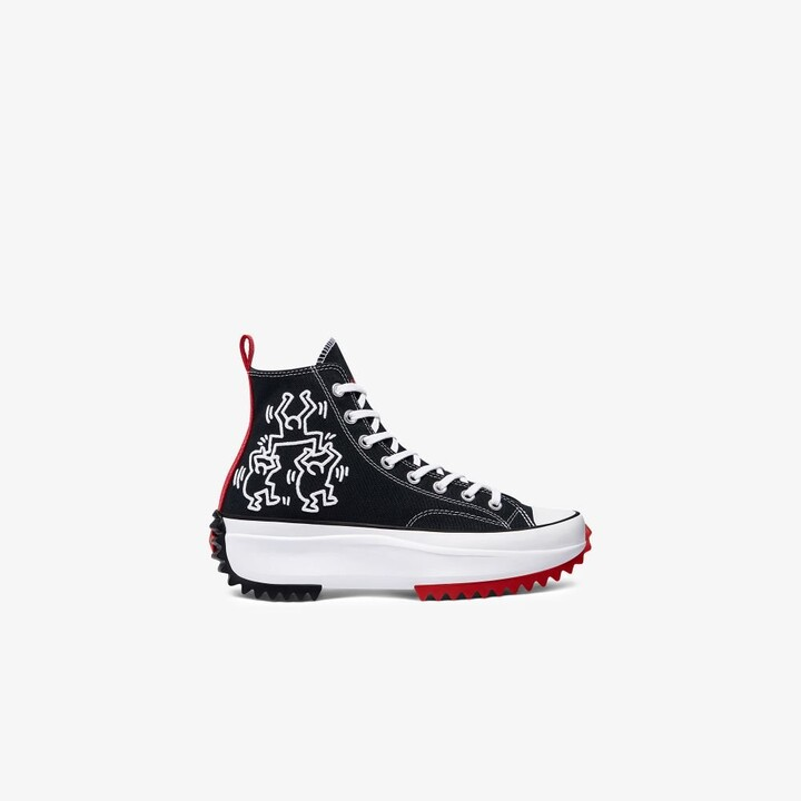 Thumbnail for your product : Converse Black Run Star Hike High Top Sneakers