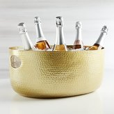 Crate & Barrel Bash Gold Beverage Tub