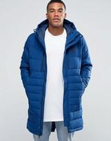 Nike Av15 Parka Jacket In Blue 807393-423
