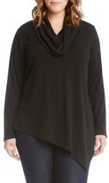 Karen Kane Plus Size Women's Asymmetrical Hem Sweater