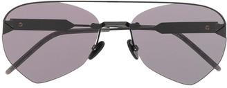So.Ya Rick aviator frame sunglasses