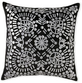 cloud 9 Black Velvet Pillow with Patterned Front