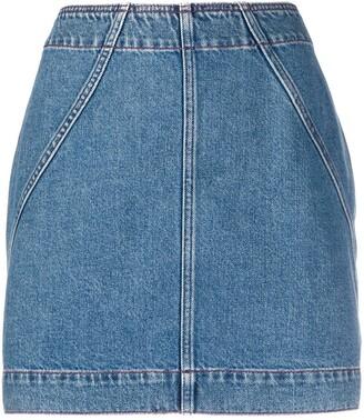 Philosophy di Lorenzo Serafini High-Waisted Denim Skirt