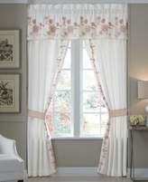 "Croscill Fiona Cotton 82"" x 84"" Pole Top Pair of Window Panels"