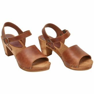 Sanita Enge Clog Sandal | Original Handmade Flexible Clog Sandal for Women Size: 8 UK