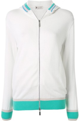 Colombo Piping Stripe Detail Hoodie