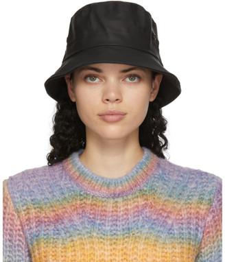 Stutterheim Black Beckholmen Bucket Hat