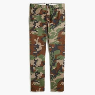 J.Crew Printed slim-fit flex khaki pant
