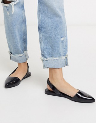 Call it SPRING elite slingback shoes in black