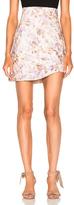 Zimmermann for FWRD Bowerbird Coreselet Skirt in Floral,Neutrals,Purple.