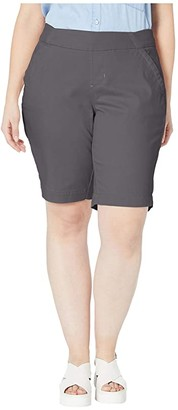 Jag Jeans Plus Size Gracie Pull-On Bermuda Shorts (Black) Women's Shorts