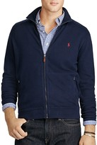 Polo Ralph Lauren Ribbed Cotton Full Zip Cardigan Sweater
