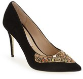 Kristin Cavallari Women's 'Dani' Embellished Pointy Toe Pump