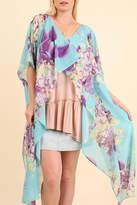 Umgee USA Bohemian Floral Kimono