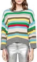 Zadig & Voltaire Clara Striped Sweater