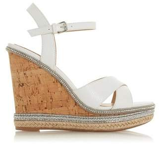 Dorothy Perkins Womens *Head Over Heels By Dune 'Maissie' Ladies Heel Sandals