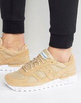 Saucony Shadow Original Ripstop Trainers In Tan S70300-1