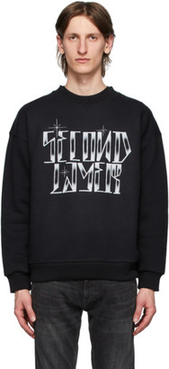 Second/Layer Black Outline Sweatshirt