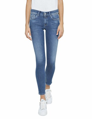 Replay Women's Luz Ankle Zip Skinny Jeans