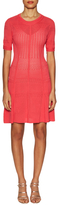 BCBGMAXAZRIA Alena Pointelle Knit City Dress