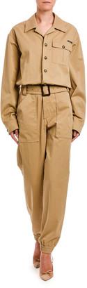 Dolce & Gabbana Cotton Utility Jumpsuit