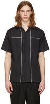 Lanvin Black Contrast Seam Shirt