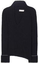 Marni Knitted Wool And Cashmere-blend Sweater