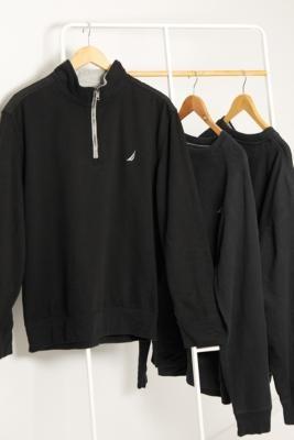 Urban Renewal Vintage Black Logo Sweatshirt - Black S/M at Urban Outfitters