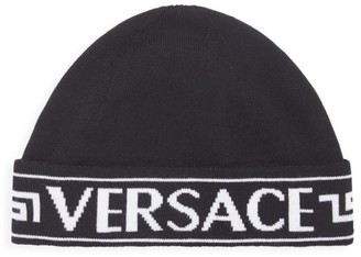 Versace Logo Key Beanie