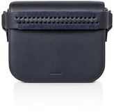 AllSaints Ray Leather Clutch