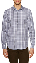 7 For All Mankind Clean Front Checkered Sportshirt