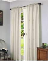 Home Studio Cote D'Azure Faux Linen 84in Window Panel
