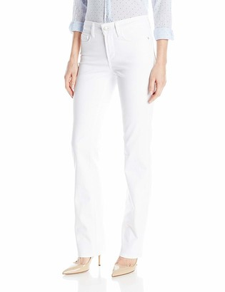 NYDJ Women's Marilyn Straight Jeans in Bull Denim