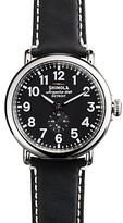 Shinola The Runwell Black Watch, 47mm